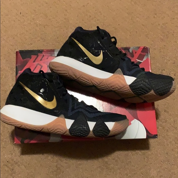 Nike Shoes | Kyrie 4 Pitch Blue | Poshmark